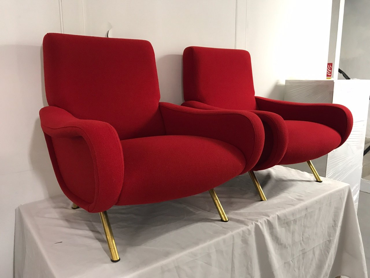Lady Armchairs by Marco Zanuso for Arflex, 1950s, Set of 2 for sale ...