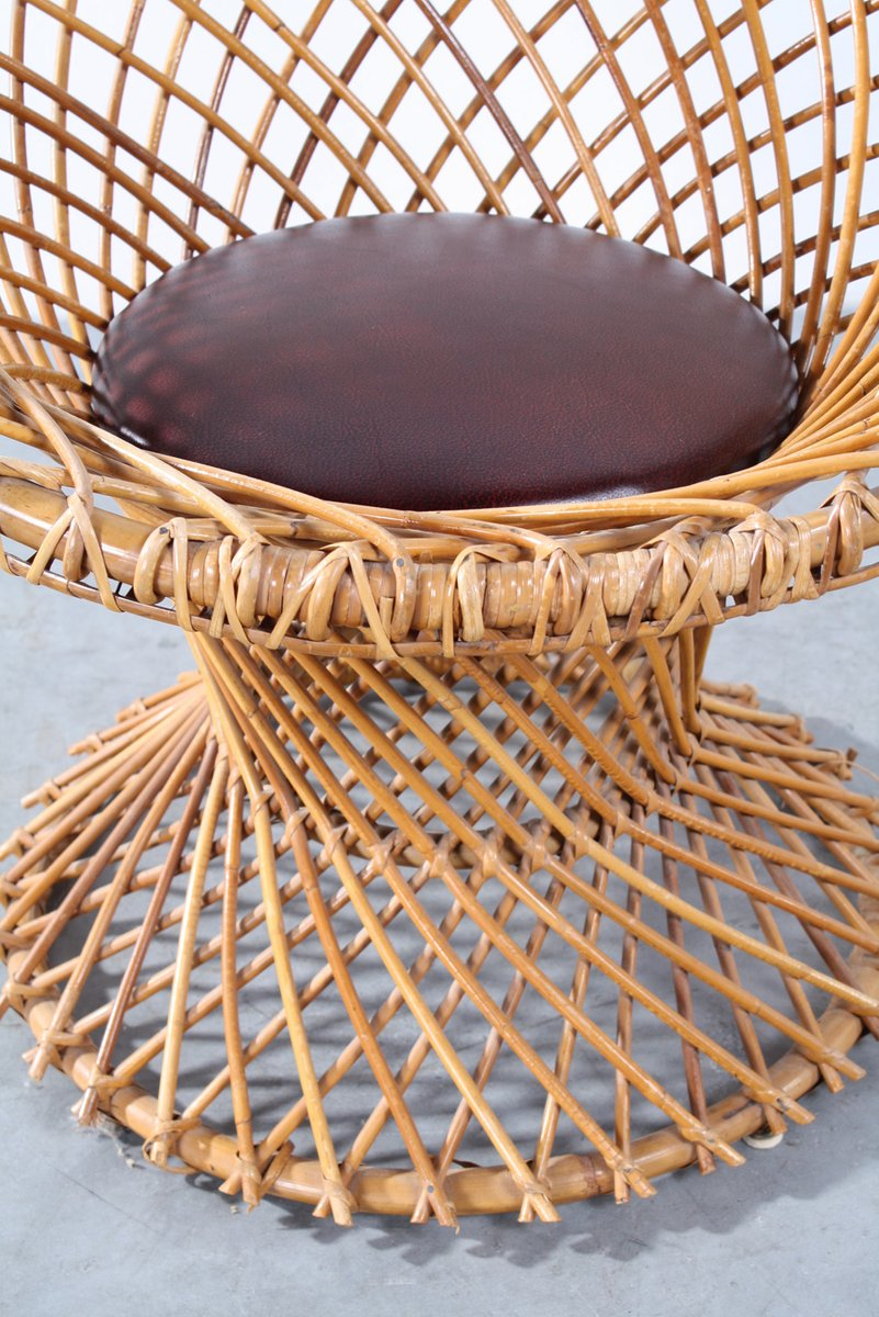 Vintage Rattan Chair From Rohé Noordwolde