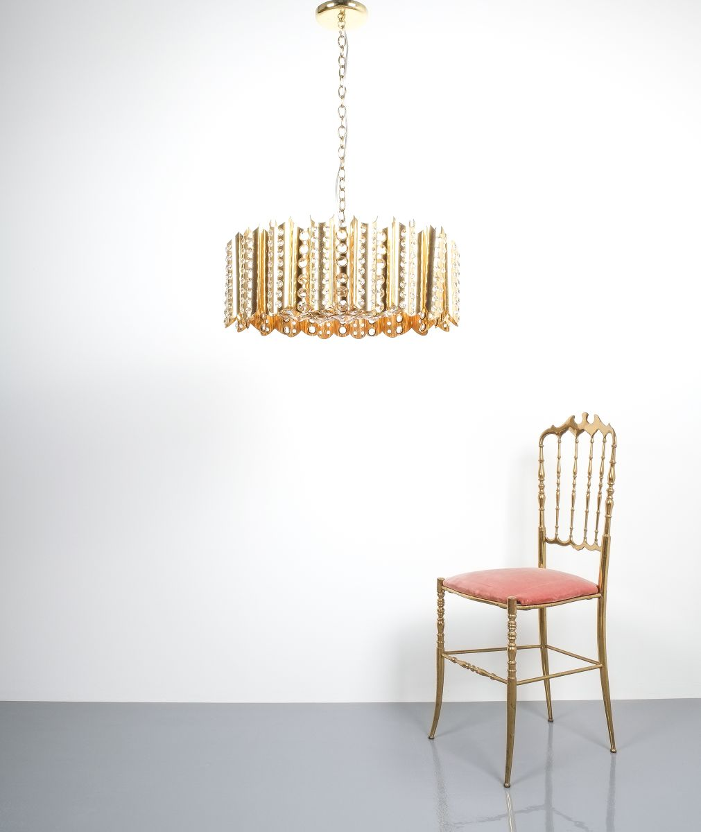 Gold plated chandelier chandelier gallery large gold plated chandeliers by emil stejnar for rupert nikoll aloadofball Choice Image