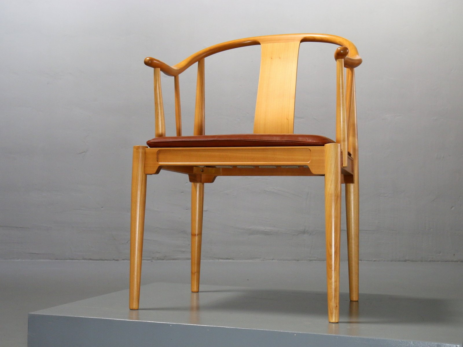 High Quality 4283 China Chair In Cherrywood By Hans J. Wegner For Fritz Hansen, 1989