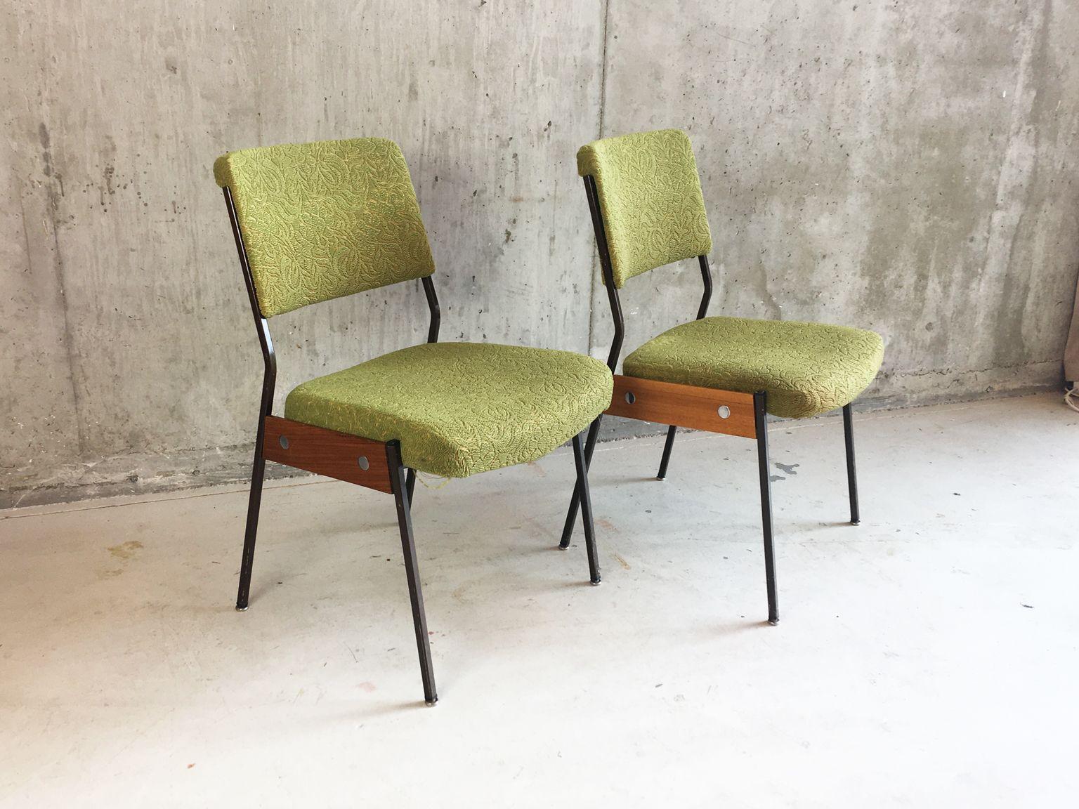 franz sische st hle 1960er 4er set bei pamono kaufen. Black Bedroom Furniture Sets. Home Design Ideas
