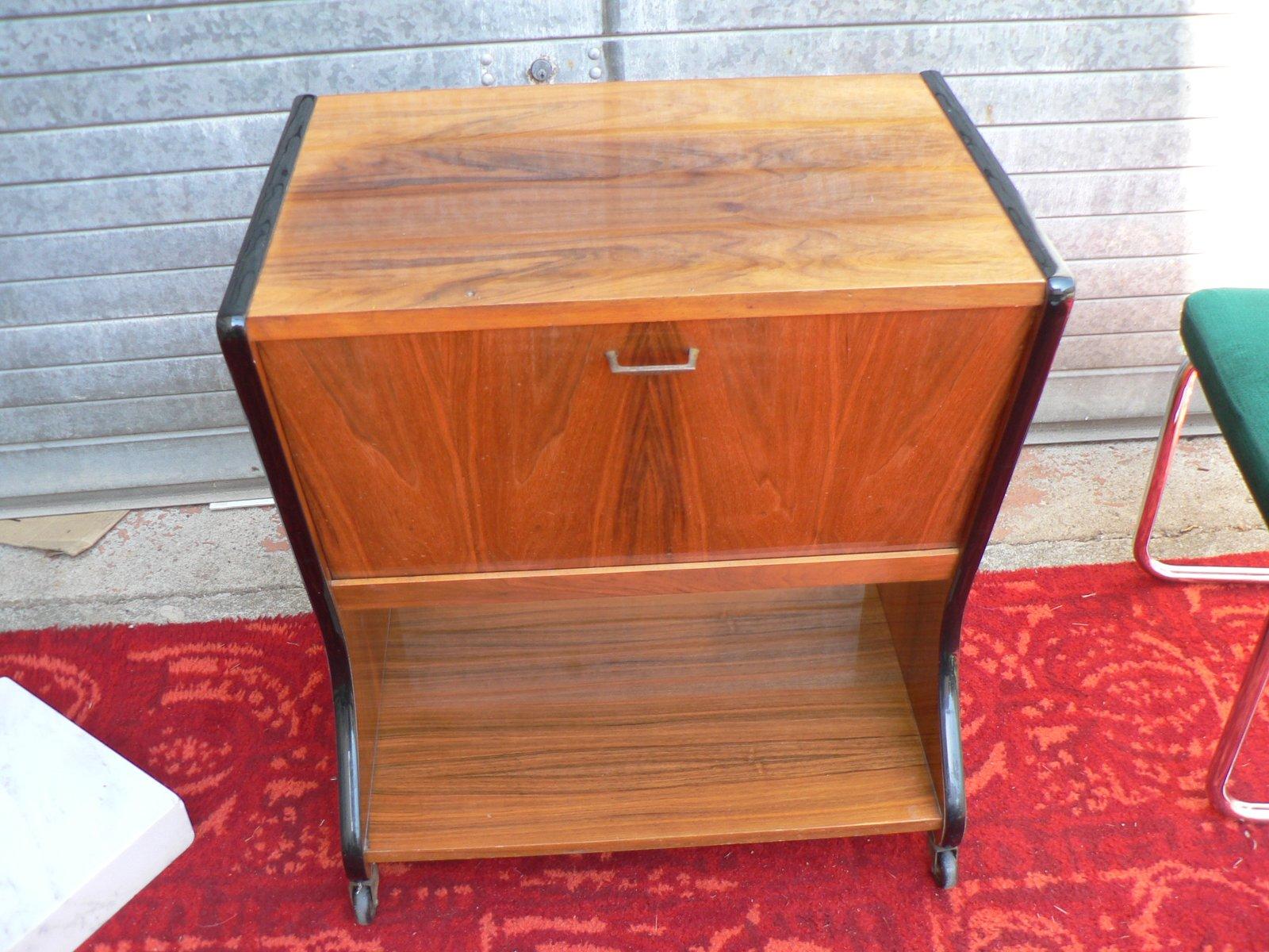 vintage barschrank 1970er bei pamono kaufen. Black Bedroom Furniture Sets. Home Design Ideas