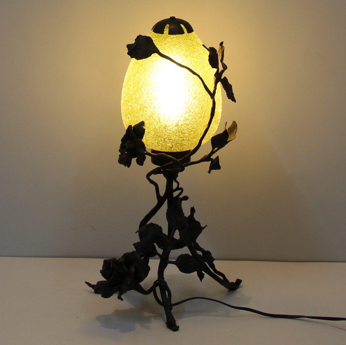 Antique Art Nouveau Lamp For Sale At Pamono
