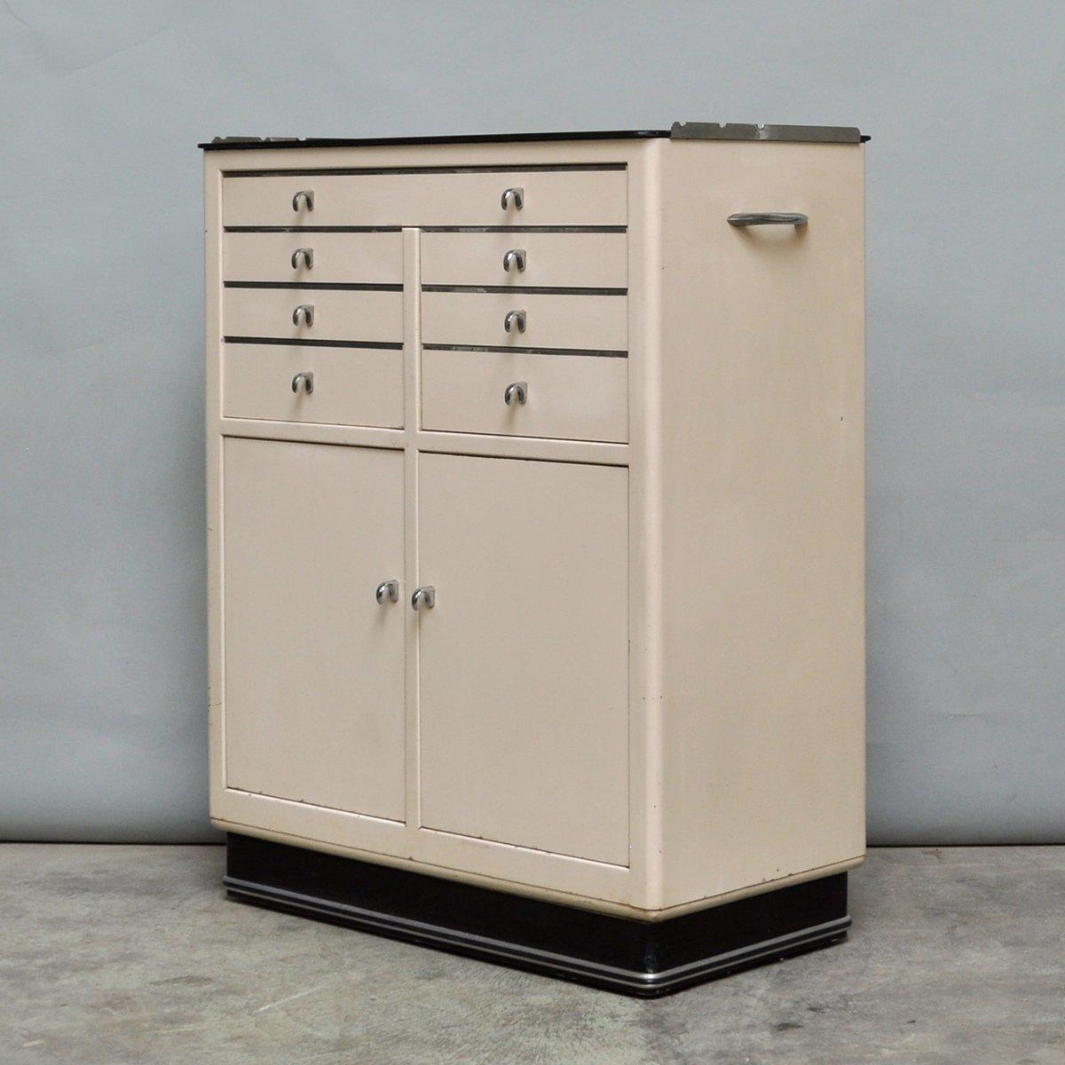 meuble de dentiste vintage de hansen allemagne 1955 en vente sur pamono. Black Bedroom Furniture Sets. Home Design Ideas