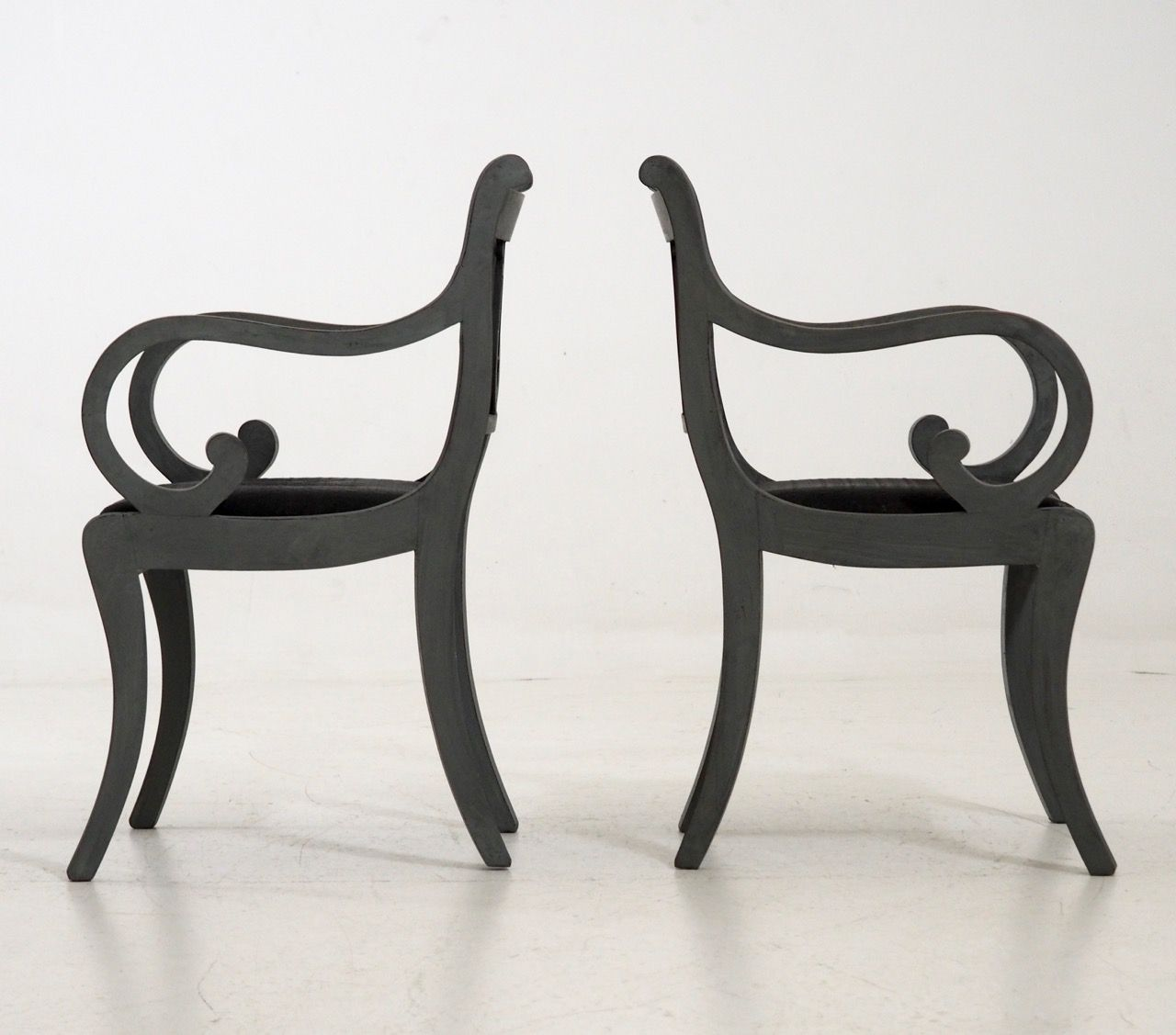 antike leier st hle 2er set bei pamono kaufen. Black Bedroom Furniture Sets. Home Design Ideas