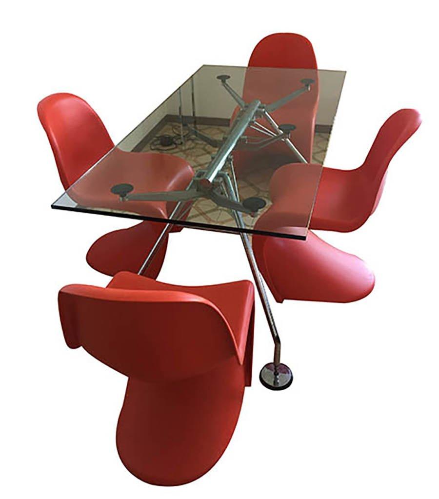 Verner Panton Panton Chair vintage panton chairs by verner panton for vitra set of 4 for sale