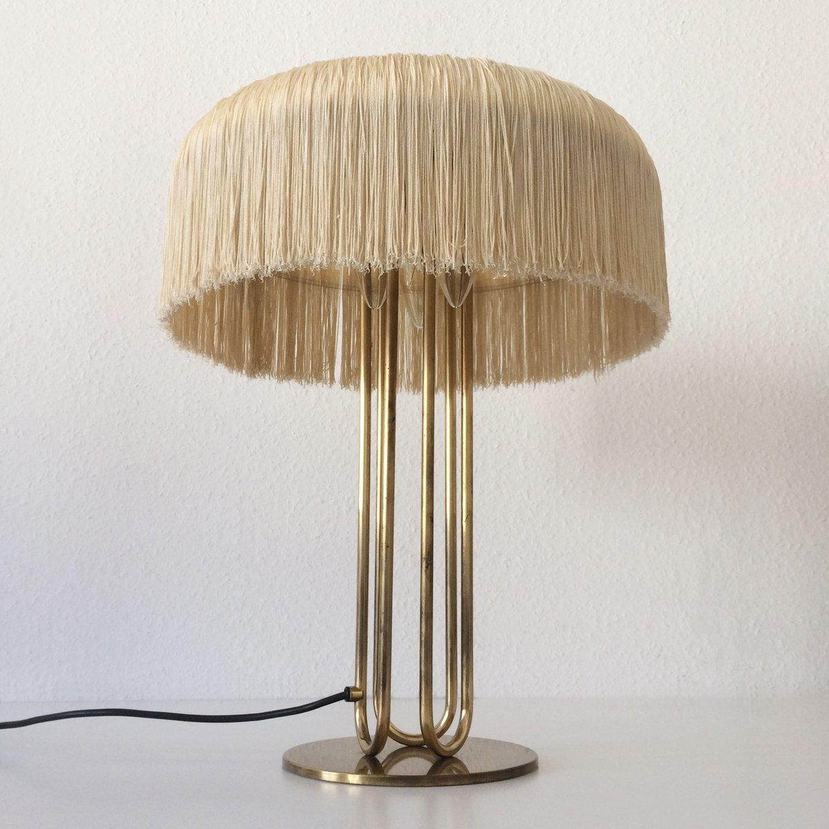 Lampade da tavolo mid century grande in ottone set di 2 for Lampade piccole da tavolo