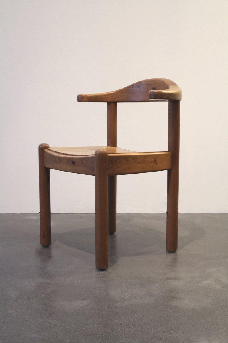 d nischer vintage holz armlehnstuhl bei pamono kaufen. Black Bedroom Furniture Sets. Home Design Ideas