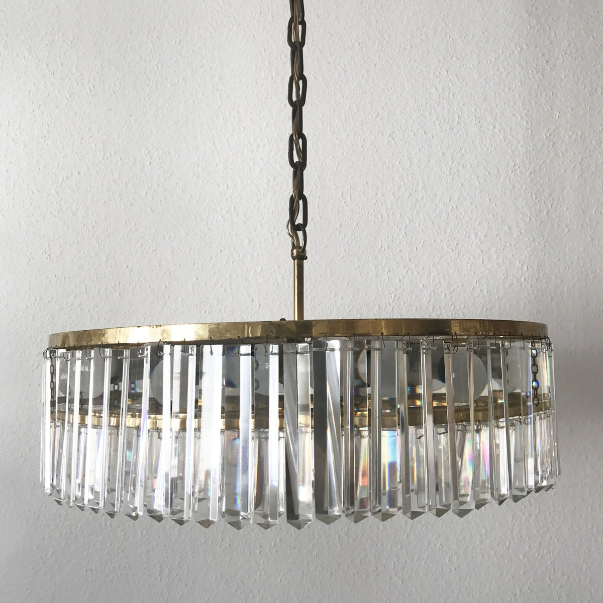 Mid century large crystal glass chandelier from bakalowits sohne mid century large crystal glass chandelier from bakalowits sohne 1950s aloadofball Choice Image