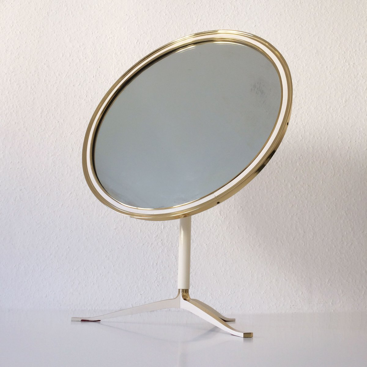 Large Mid Century Modern Table Mirror For Sale At Pamono