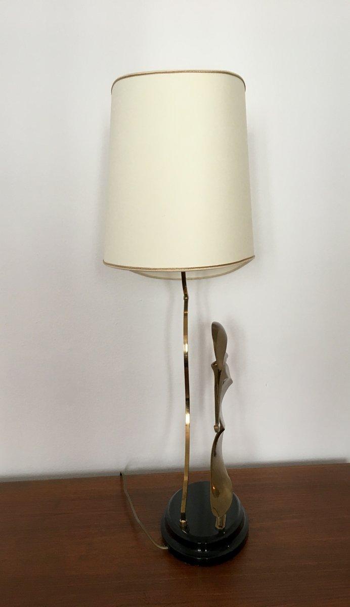 lampe de bureau art d co en laiton avec sculpture de cygne france 1930s en vente sur pamono. Black Bedroom Furniture Sets. Home Design Ideas