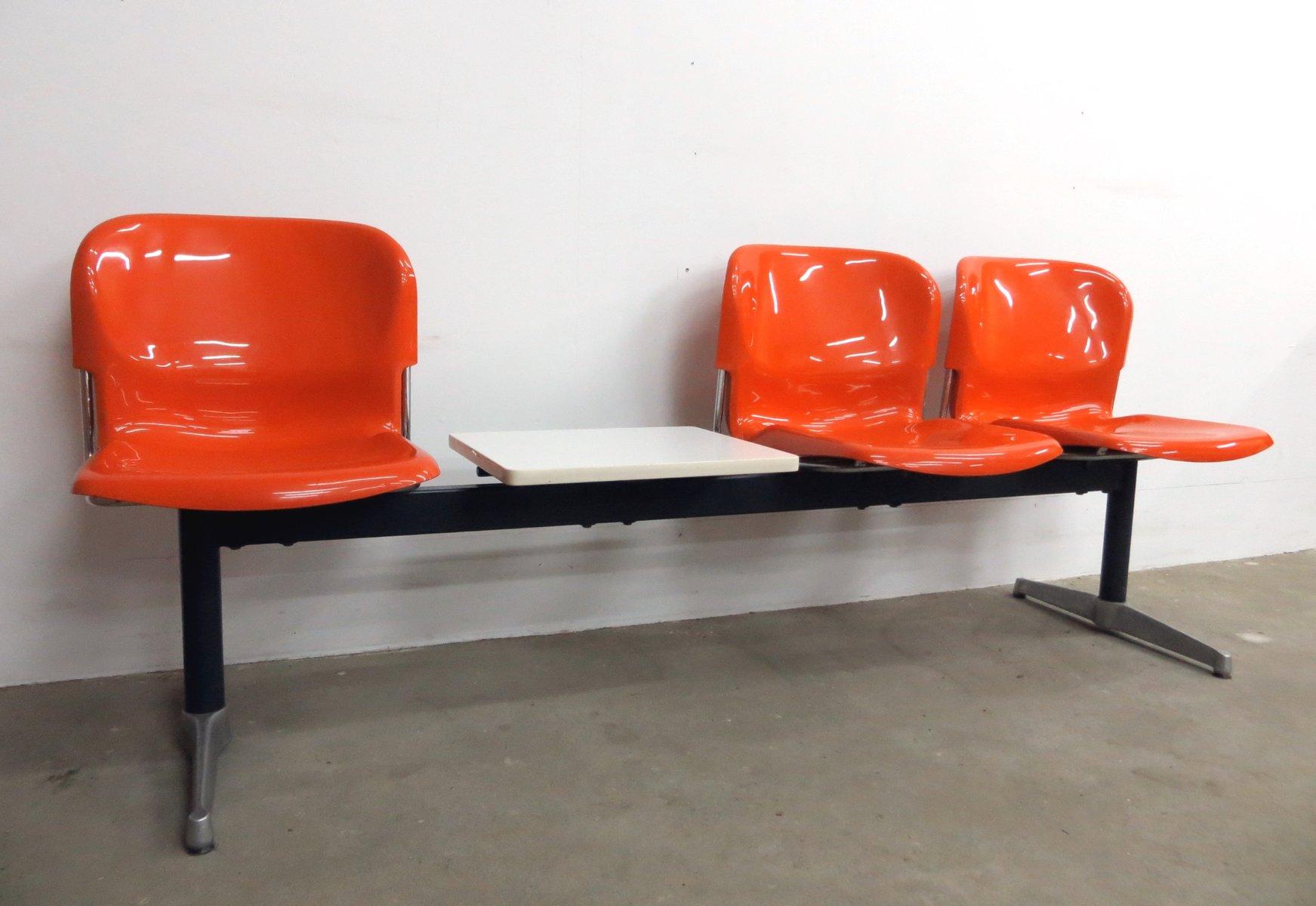 deutsche drei sitzer swing bank mit tisch von gerd lange f r drabert 1960er bei pamono kaufen. Black Bedroom Furniture Sets. Home Design Ideas