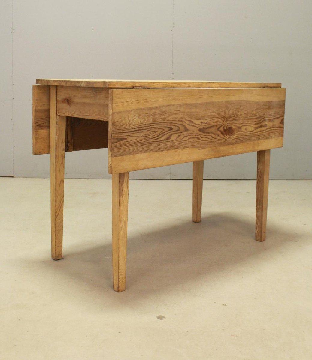 ausziehbarer schwedischer vintage tisch aus kiefernholz bei pamono kaufen. Black Bedroom Furniture Sets. Home Design Ideas
