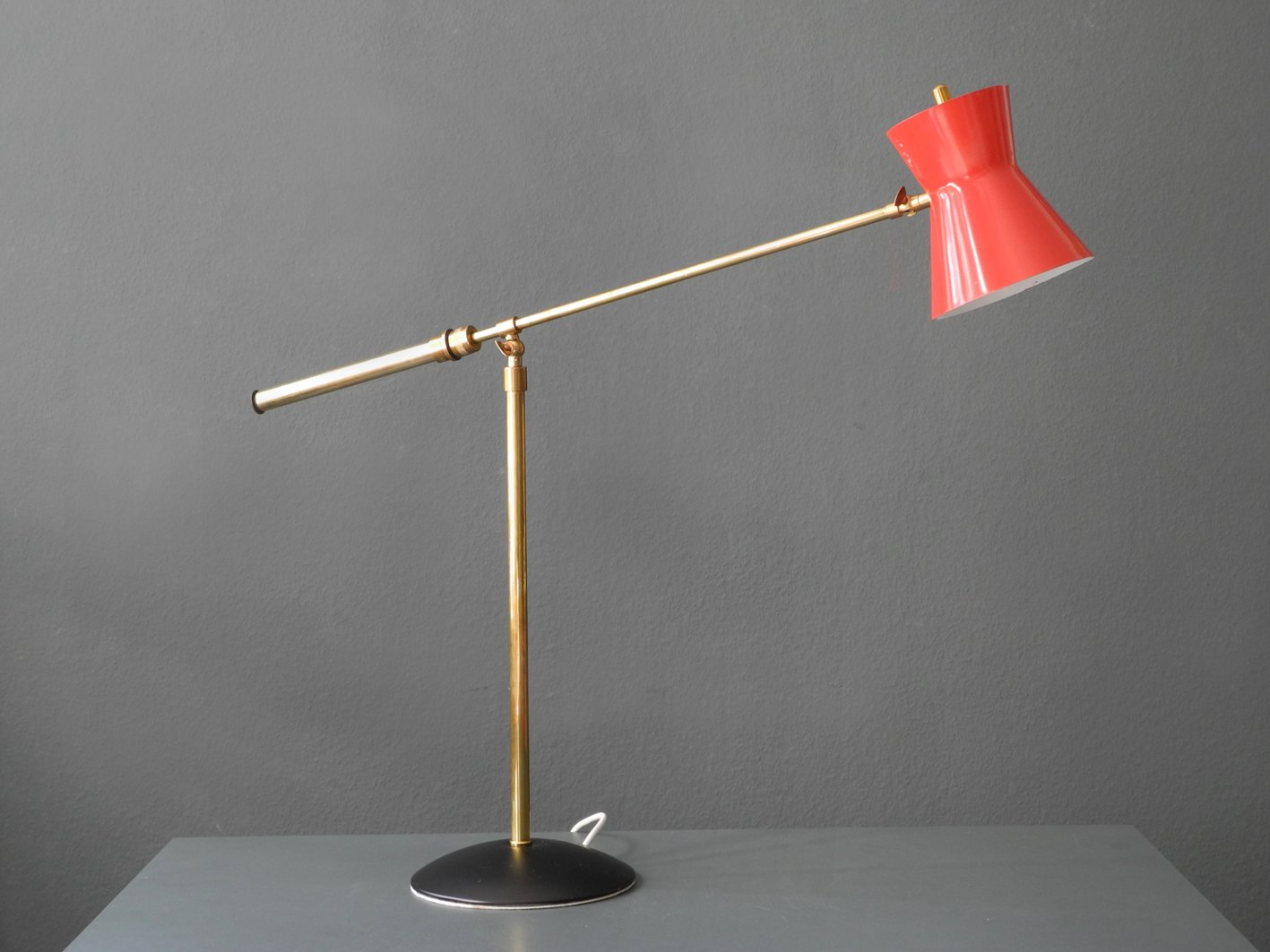 Large diabolo brass table lamp 1960s en venta en pamono large diabolo brass table lamp 1960s aloadofball Choice Image