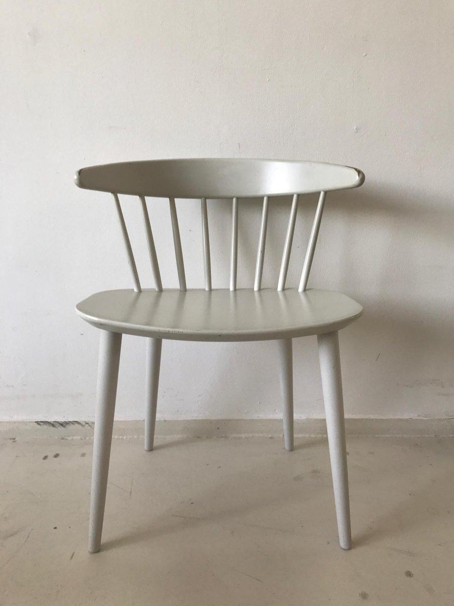 wei e j104 esszimmerst hle von j rgen b kmark f r fdb. Black Bedroom Furniture Sets. Home Design Ideas
