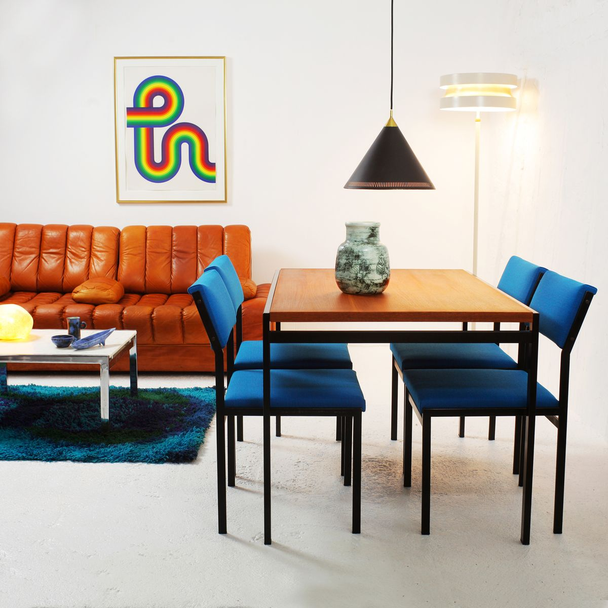 Dining Chairs In Living Room. Japanese Series Dining Chairs by Cees Braakman for Pastoe  1960s Set of 4