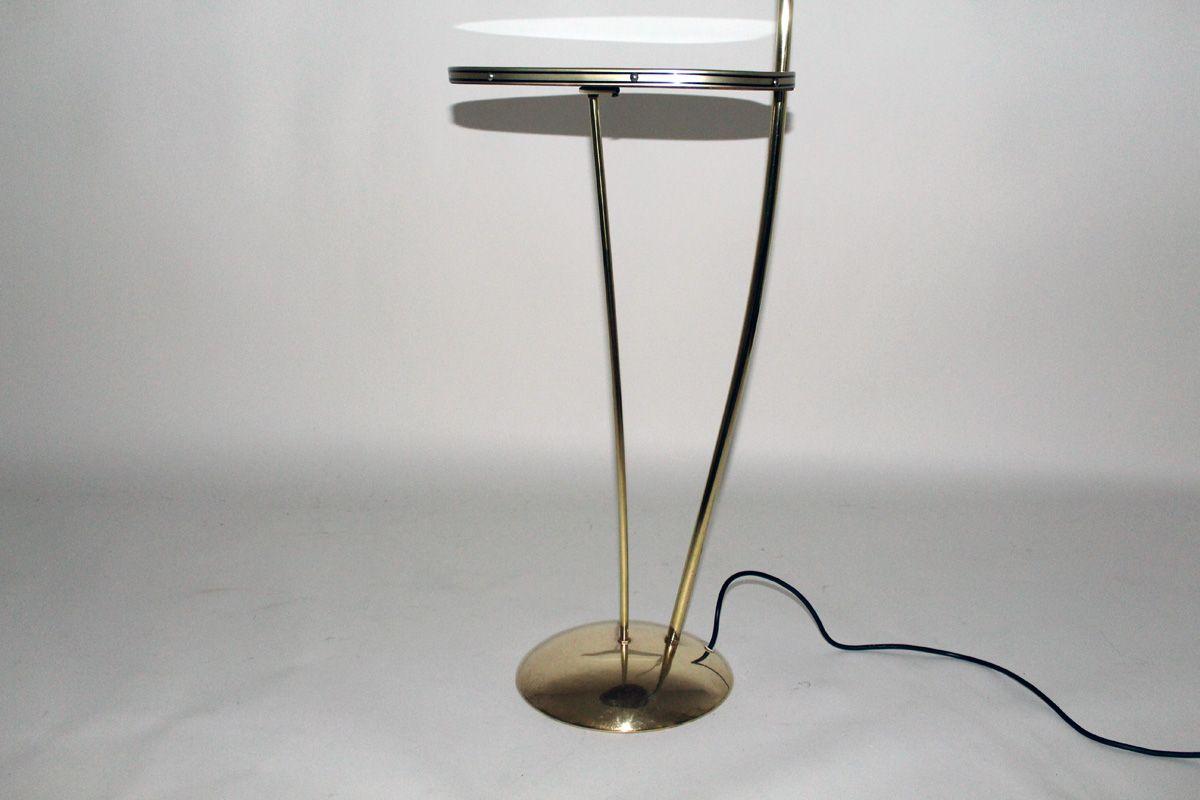 stehlampe mit beistelltisch von nikoll 1950er bei pamono kaufen. Black Bedroom Furniture Sets. Home Design Ideas