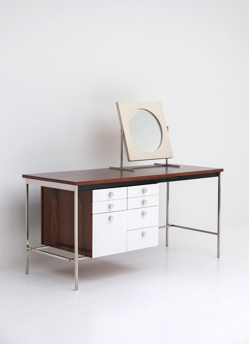 mid century frisiertisch oder schreibtisch von alfred hendrickx f r belform bei pamono kaufen. Black Bedroom Furniture Sets. Home Design Ideas