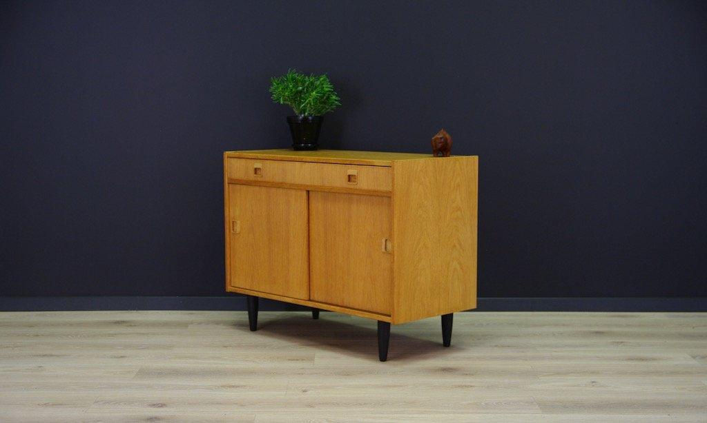 d nische mid century eschenholz furnier kommode bei pamono. Black Bedroom Furniture Sets. Home Design Ideas