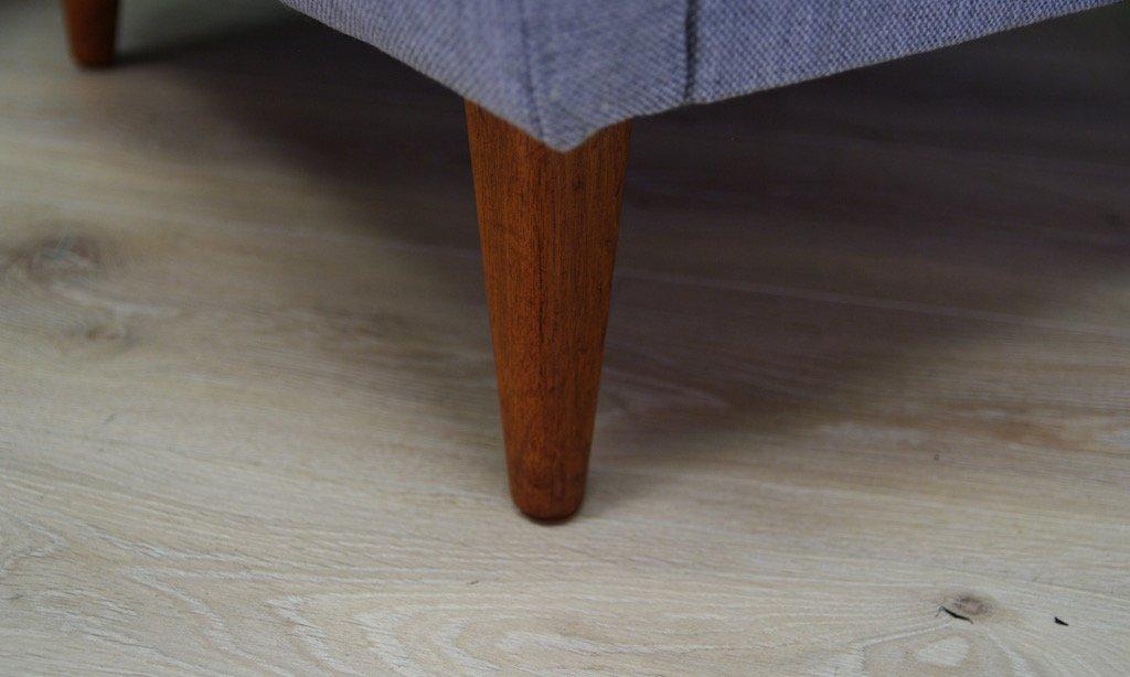skandinavischer mid century teak sessel von folke ohlsson. Black Bedroom Furniture Sets. Home Design Ideas