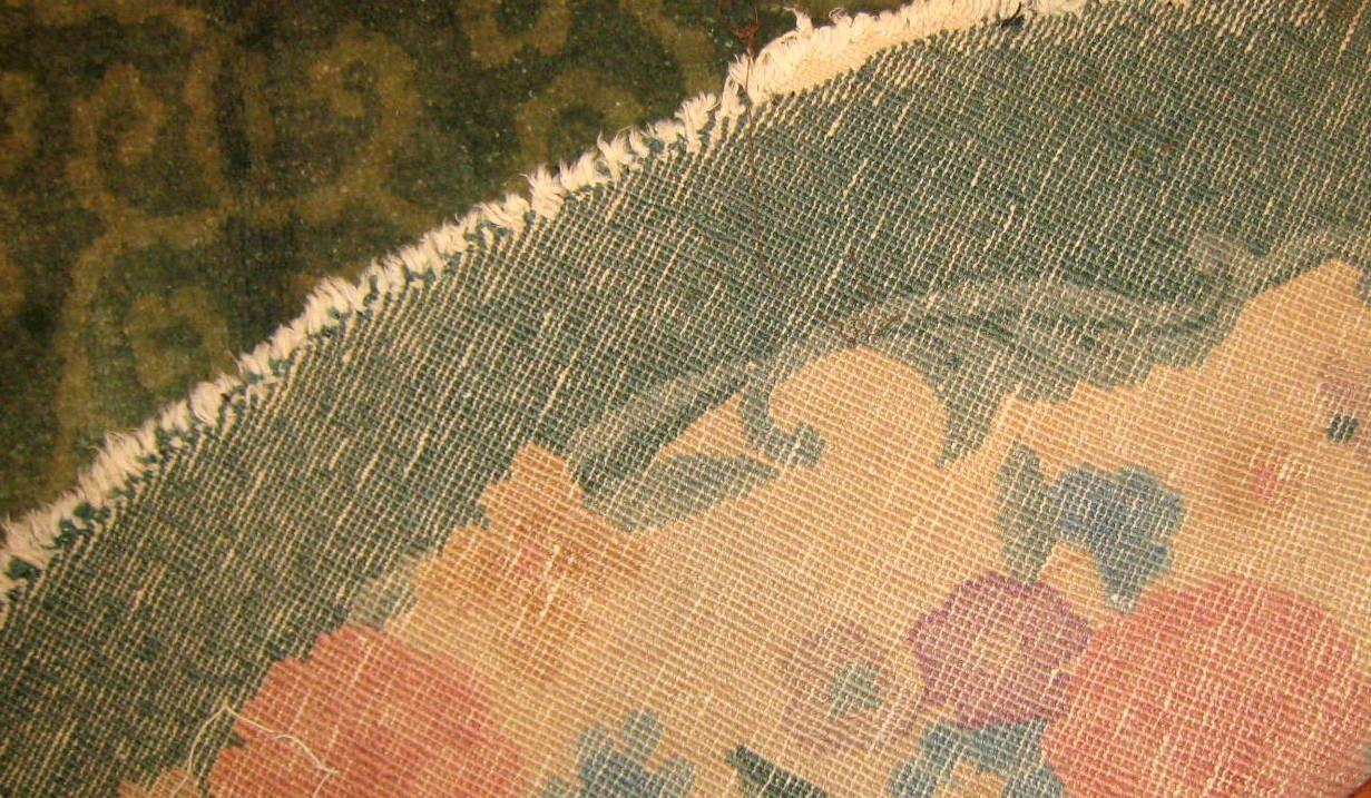 Handgekn pfter chinesischer art deco teppich 1920er bei - Art deco teppich ...