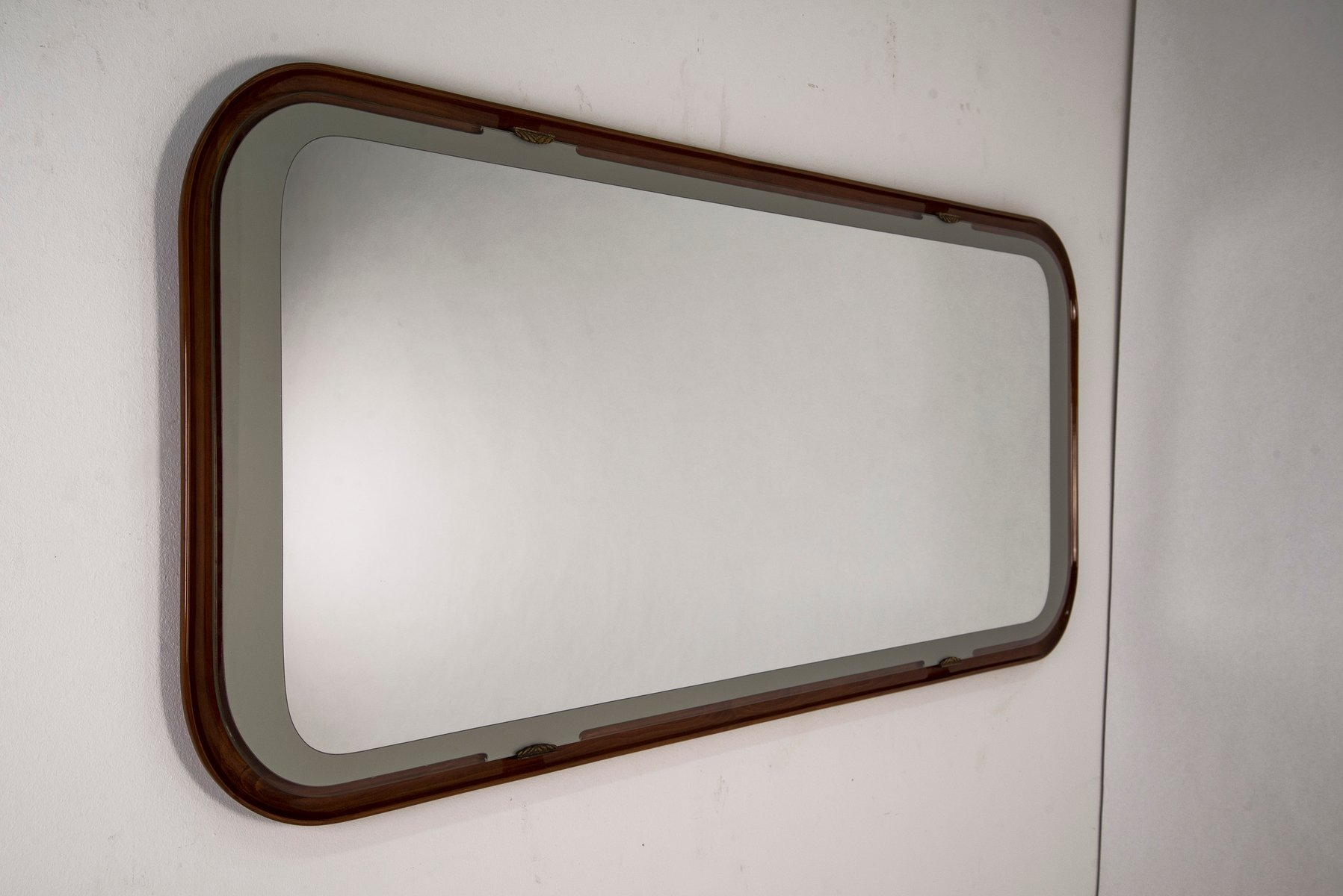 Specchio da parete, Italia, anni \'50 in vendita su Pamono