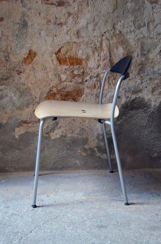 st hle von vico magistretti f r fritz hansen 10er set bei pamono kaufen. Black Bedroom Furniture Sets. Home Design Ideas