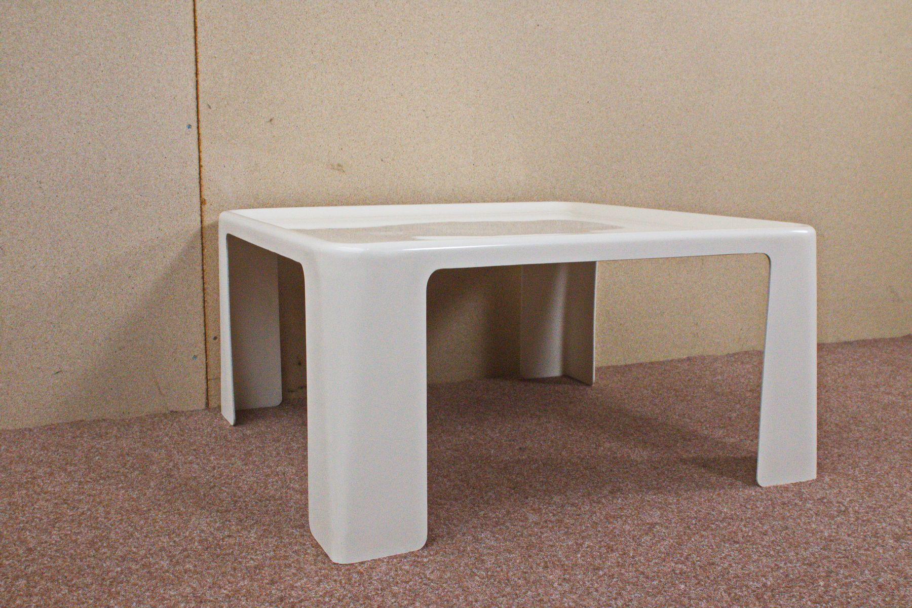 quadratischer tisch von mario bellini f r c b italia 1960er bei pamono kaufen. Black Bedroom Furniture Sets. Home Design Ideas