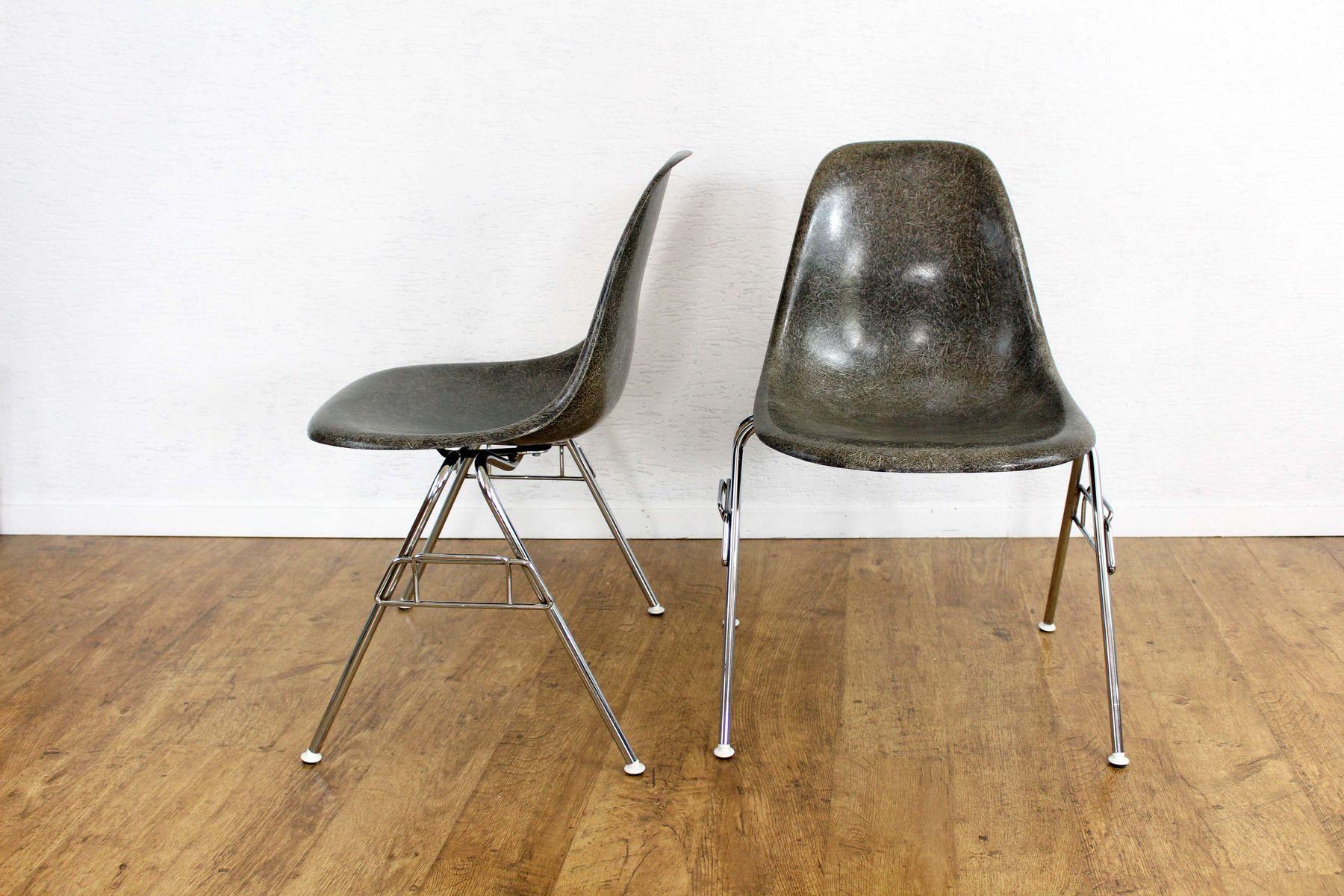 mid century modell dss stuhl von charles ray eames f r herman miller bei pamono kaufen. Black Bedroom Furniture Sets. Home Design Ideas