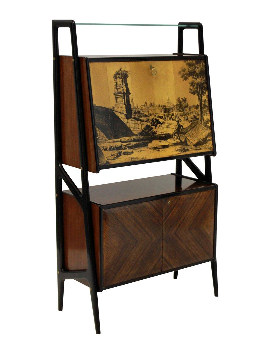 verspiegelter vintage barschrank bei pamono kaufen. Black Bedroom Furniture Sets. Home Design Ideas