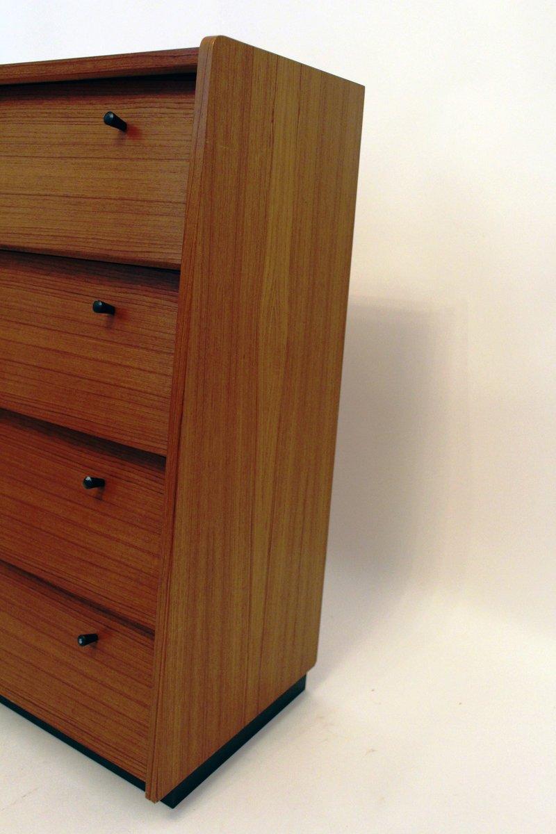 kleiner vintage schrank mit klappt ren und schublade bei pamono kaufen. Black Bedroom Furniture Sets. Home Design Ideas