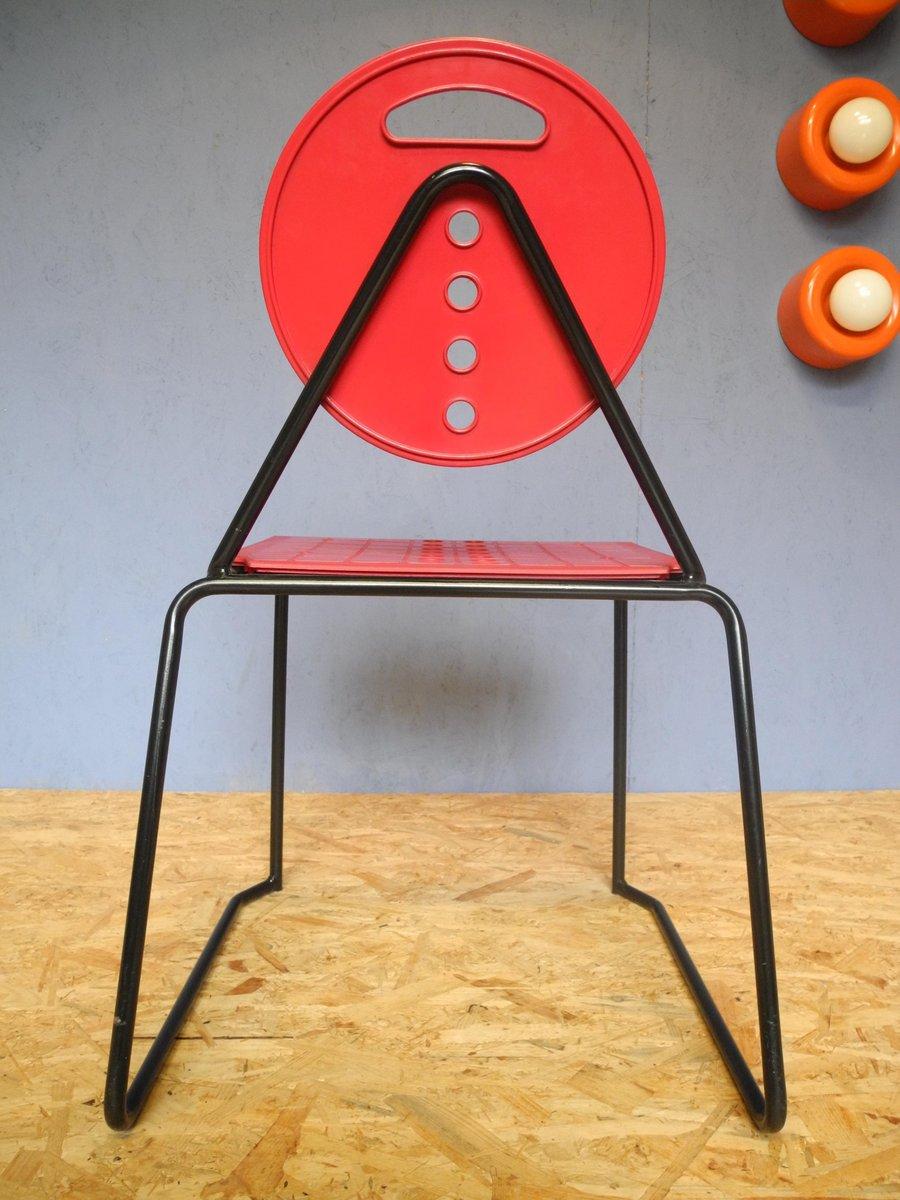 Italienischer vintage charlie stuhl von carlo bimbi nilo for Design stuhl charly