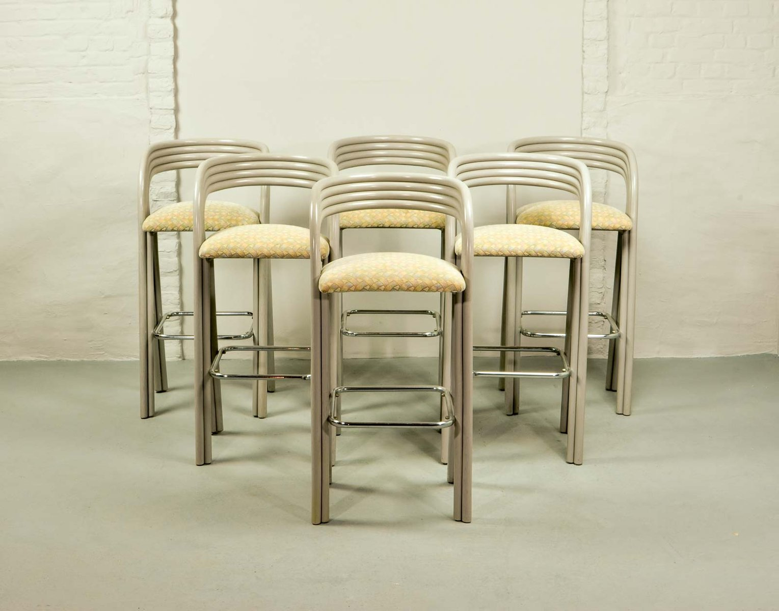 Dutch Barstools By Axel Enthoven For Roh 233 Holland 1970s