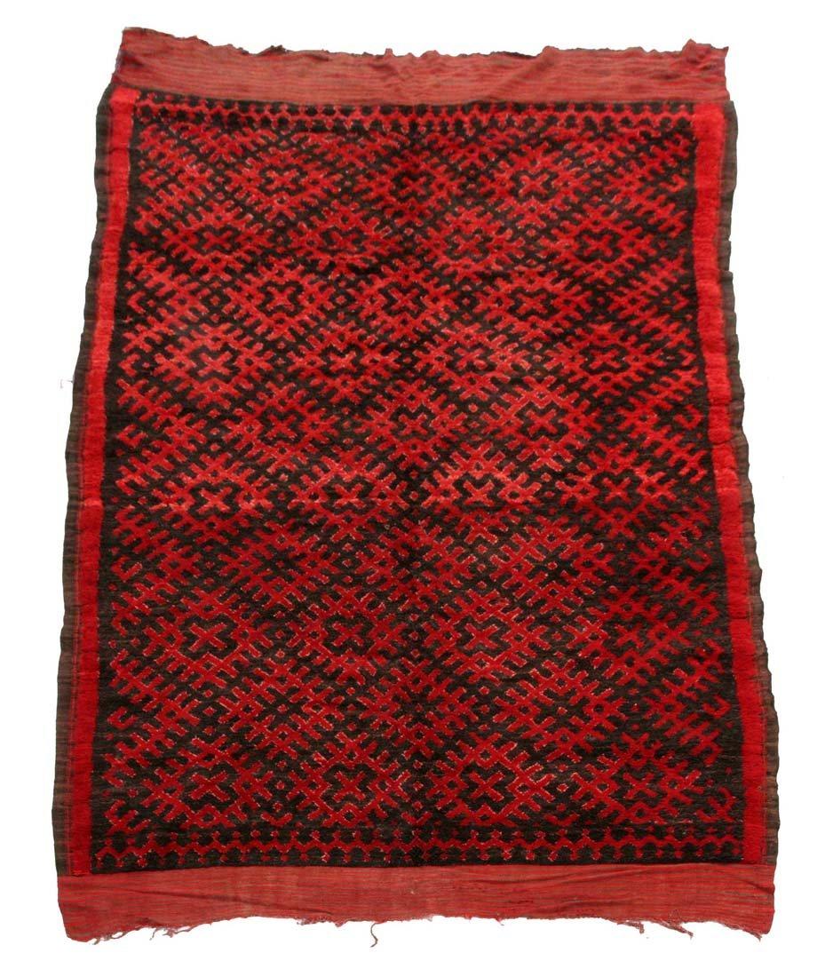 marokkanischer vintage ait bou ichaouen teppich bei pamono. Black Bedroom Furniture Sets. Home Design Ideas