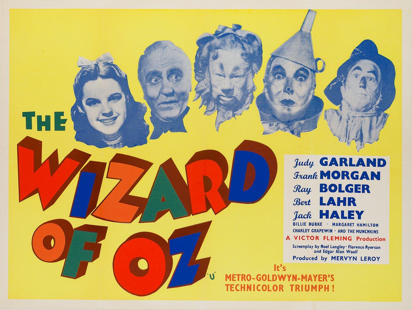 Der Zauberer von Oz Poster, 1959 bei Pamono kaufen