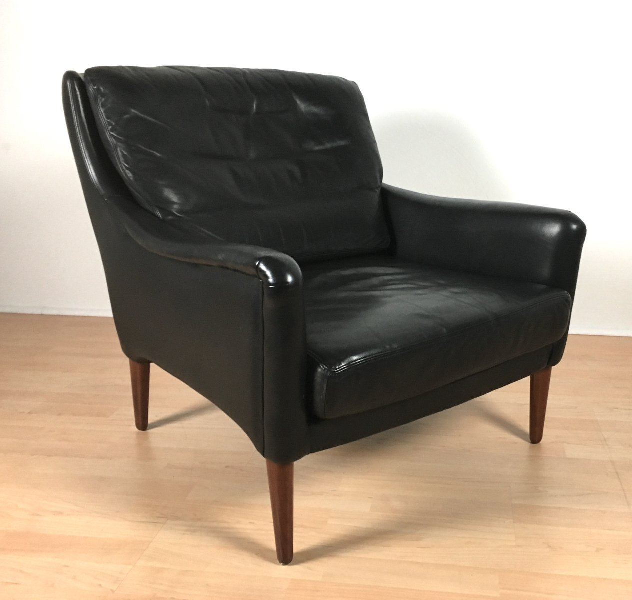 vintage leather armchairs for sale vintage black leather armchair for at pamono 8837