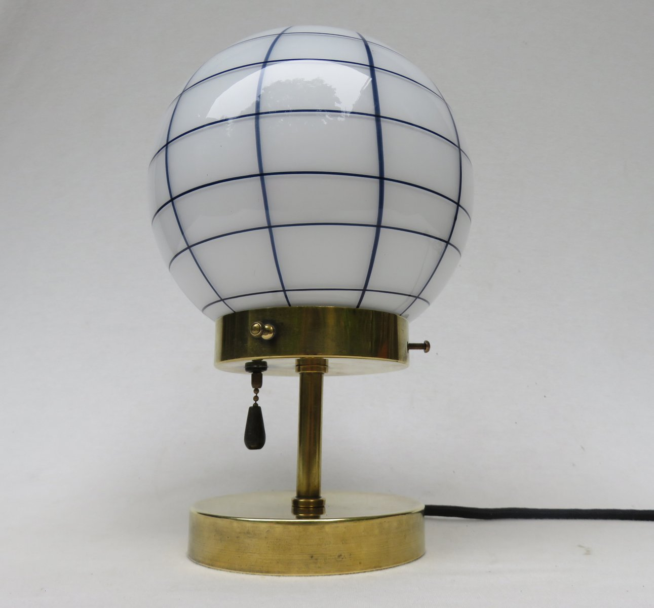 Vintage small art deco brass table lamp for sale at pamono vintage small art deco brass table lamp aloadofball Gallery
