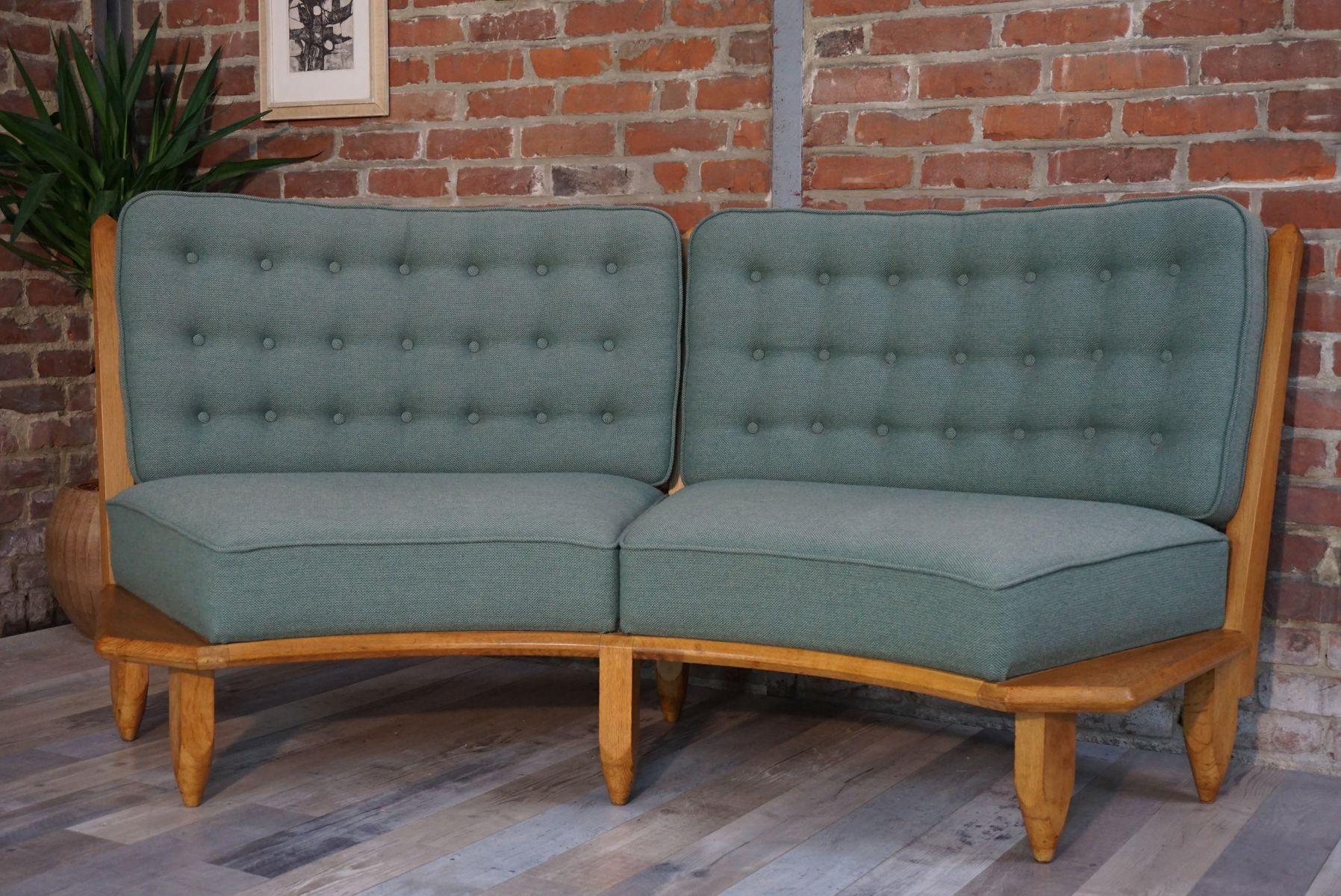 sofa vonguillerme and chambron f r votre maison 1950er. Black Bedroom Furniture Sets. Home Design Ideas