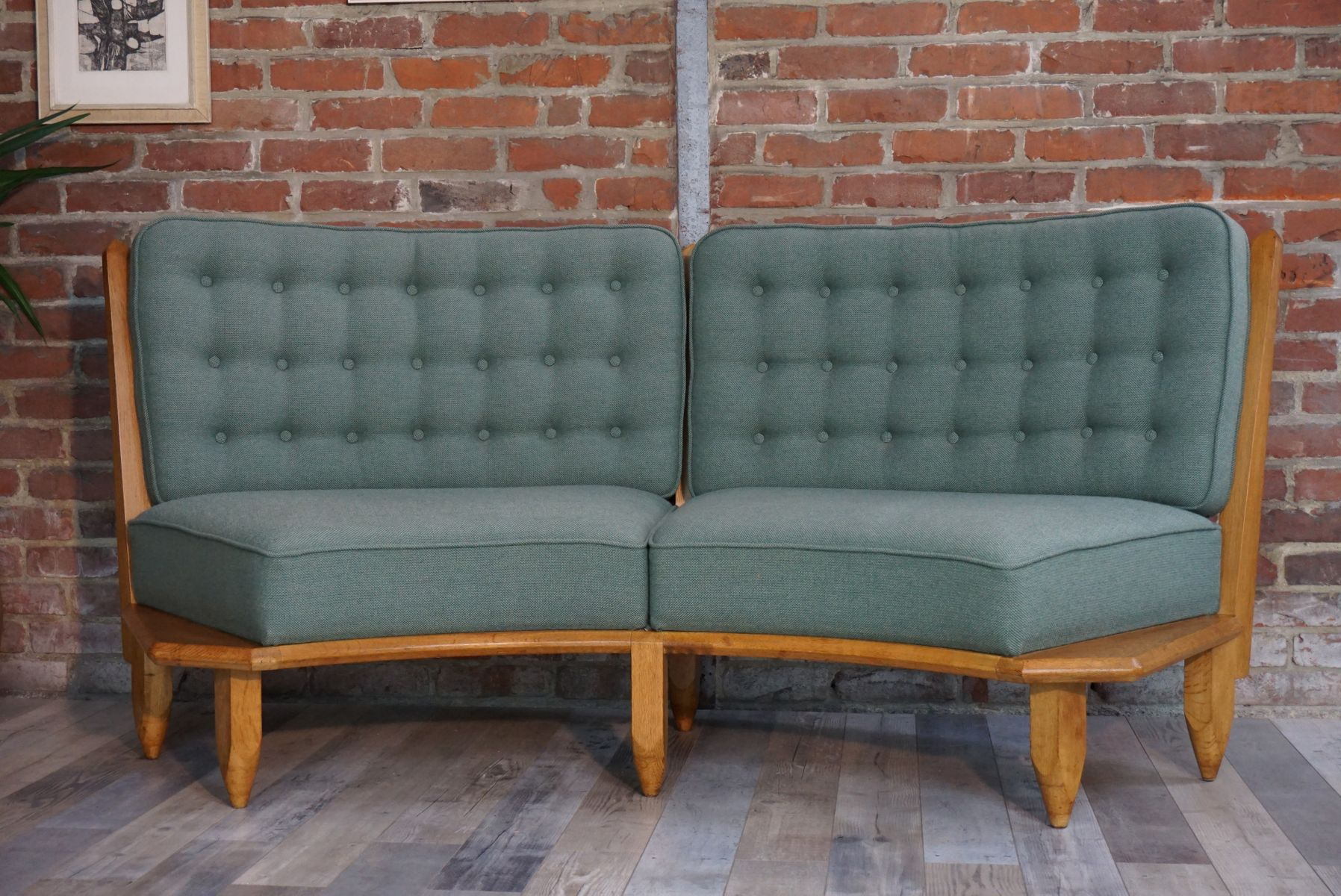 sofa vonguillerme and chambron f r votre maison 1950er bei pamono kaufen. Black Bedroom Furniture Sets. Home Design Ideas