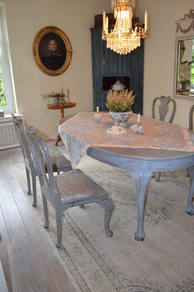 Antique Dining Room Set 5 P Furniture Renaissance Xvii Th: Antique Dining Room Set For Sale At Pamono