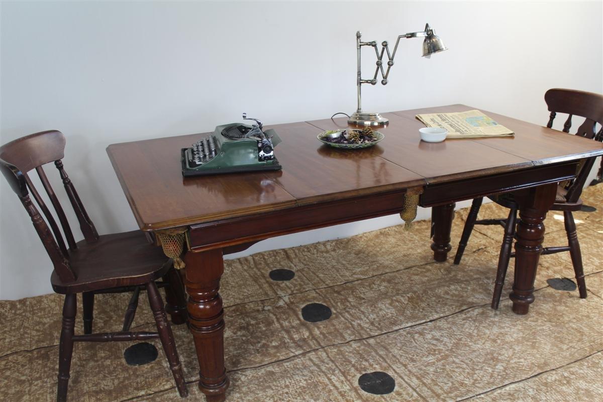 billardtisch esstisch von e g riley 1930er bei pamono. Black Bedroom Furniture Sets. Home Design Ideas