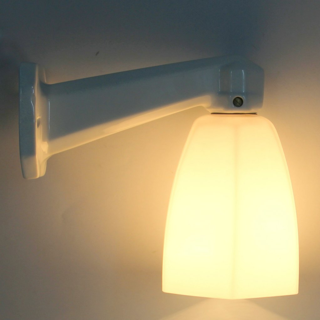 Art Deco Bathroom Wall Light for sale at Pamono