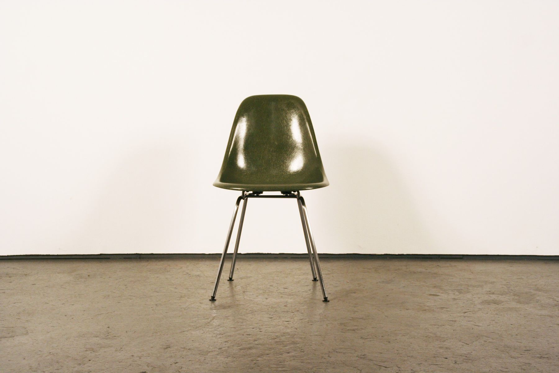 Mid Century Fiberglass DSX Chairs By Charles U0026 Ray Eames For Herman Miller,  Set Of 4