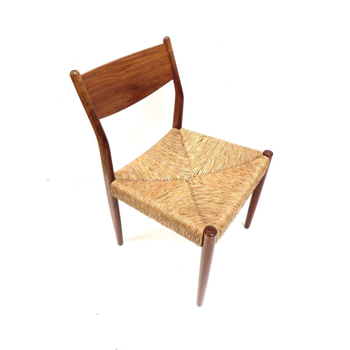vintage papierkordel st hle 1960er 4er set bei pamono kaufen. Black Bedroom Furniture Sets. Home Design Ideas
