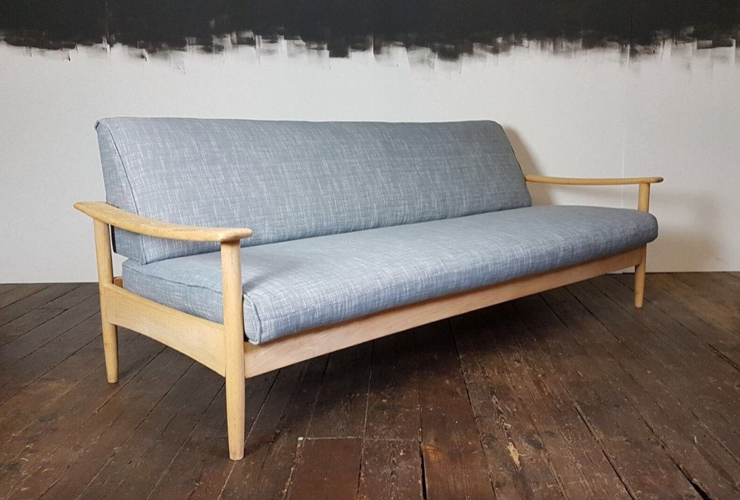 Beautiful Mid Century Sofa Bed By Guy Rogers