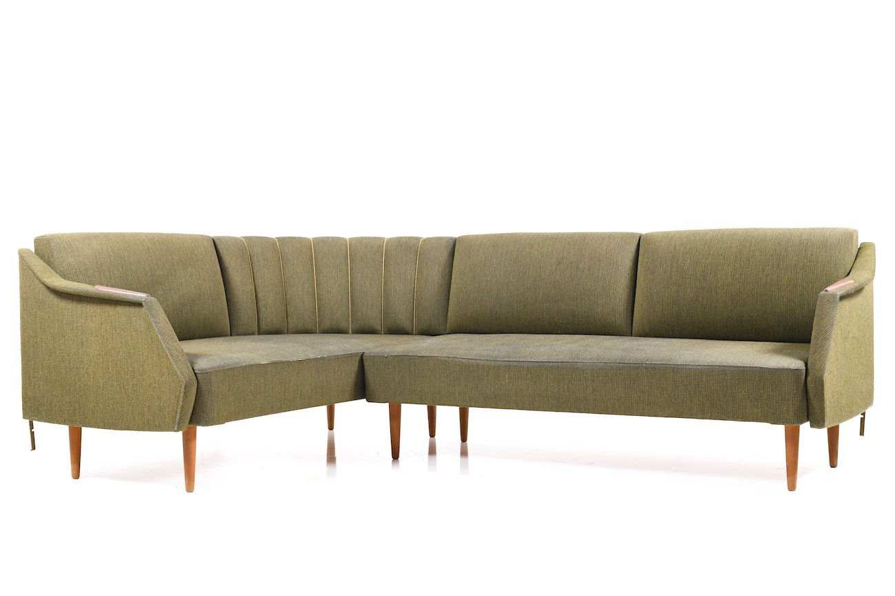 d nisches mid century eck schlafsofa bei pamono kaufen. Black Bedroom Furniture Sets. Home Design Ideas