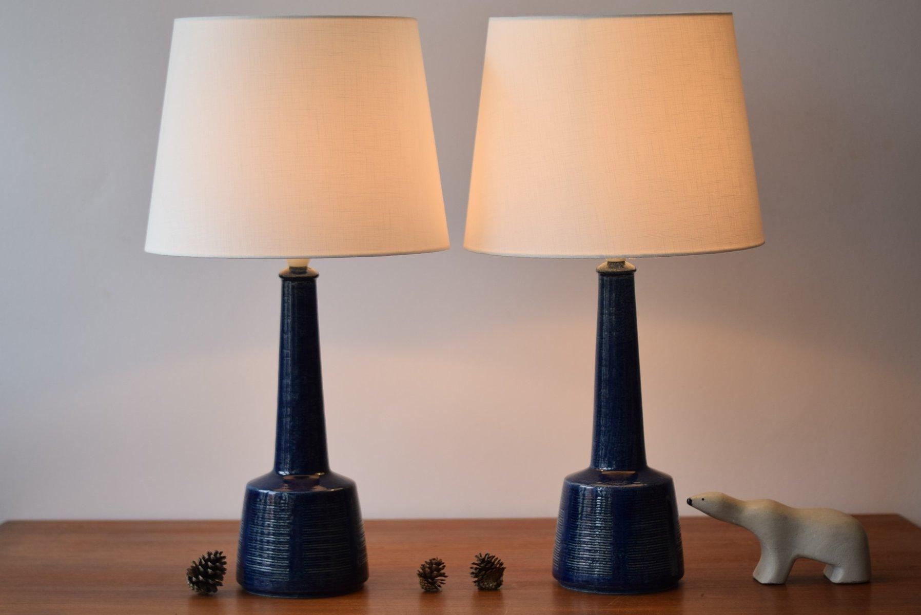 lampes de bureau bleues scandinaves par esben klint pour palshus 1960s set de 2 3 Résultat Supérieur 60 Beau Lampe De Bureau Vintage Photos 2018 Lok9