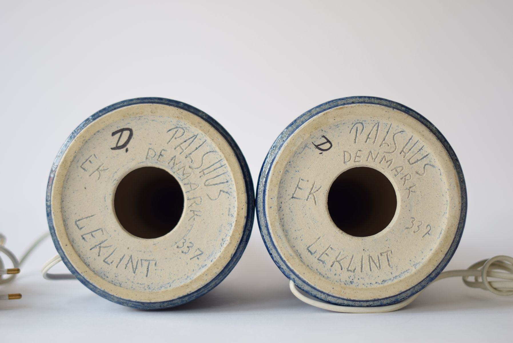 lampes de bureau bleues scandinaves par esben klint pour palshus 1960s set de 2 7 Résultat Supérieur 60 Beau Lampe De Bureau Vintage Photos 2018 Lok9