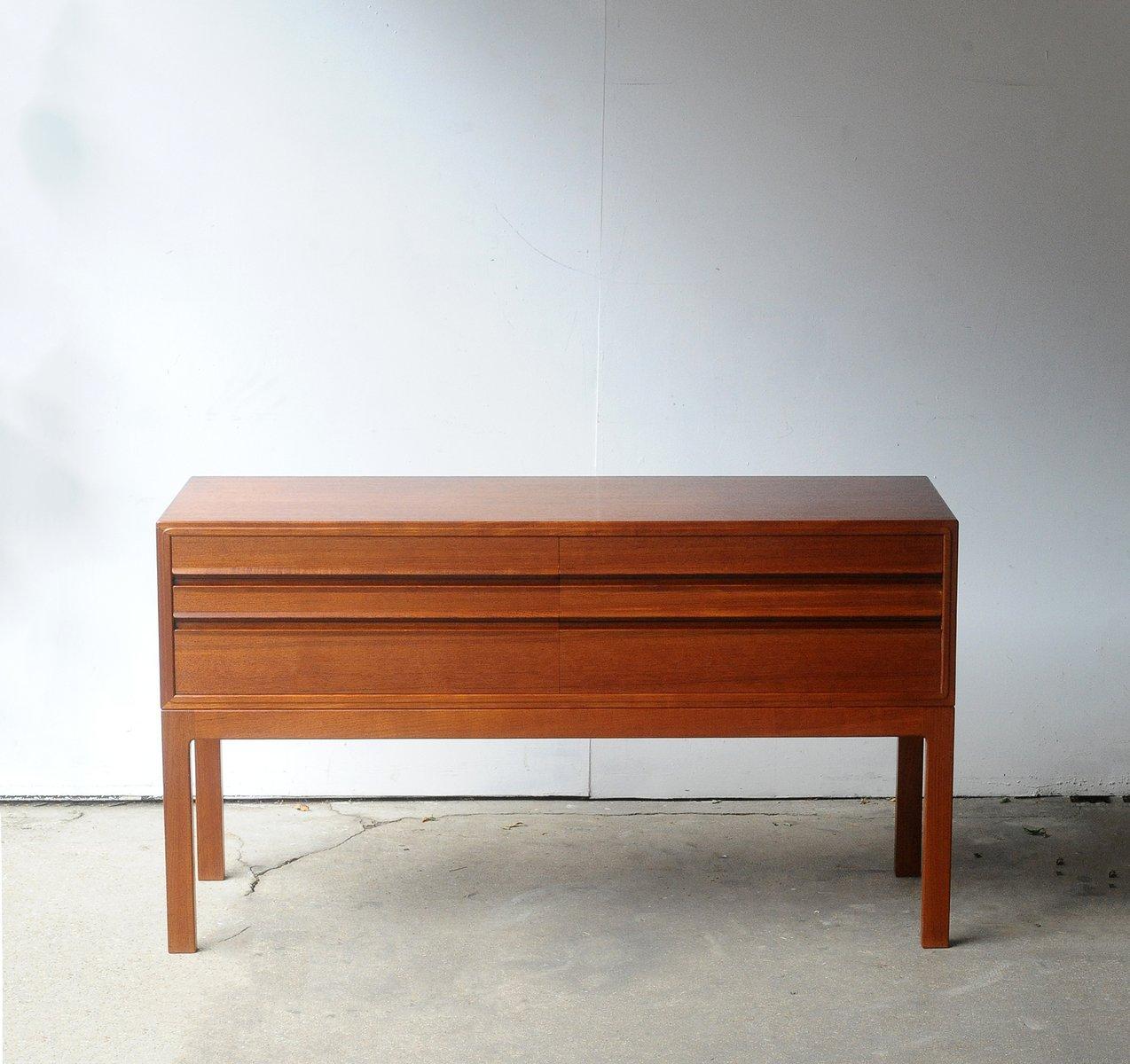 vintage commode by henry rosengren hansen for sale at pamono. Black Bedroom Furniture Sets. Home Design Ideas