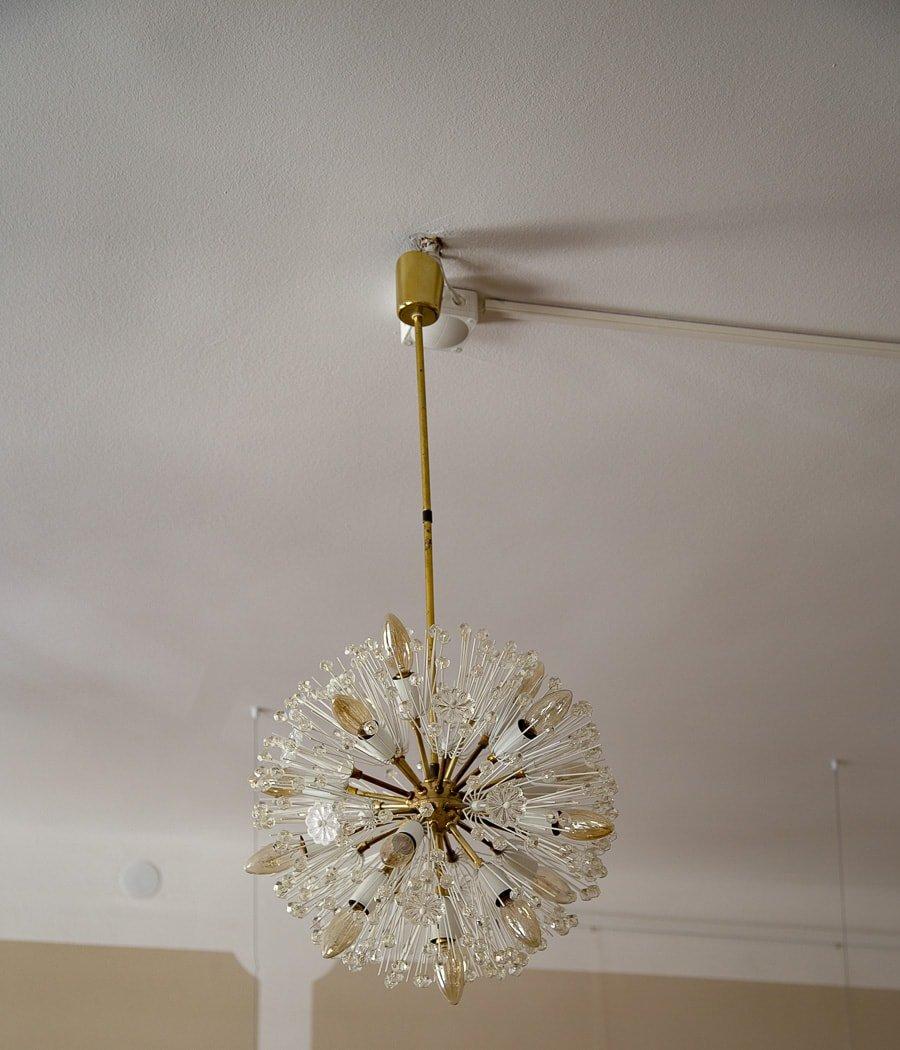 Dandelion pendant lamp by emil stejnar for rupert nikoll 1955 for dandelion pendant lamp by emil stejnar for rupert nikoll 1955 audiocablefo
